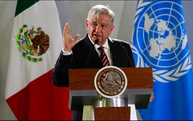 Organizaciones acusan a AMLO en la ONU por simular ante graves ...