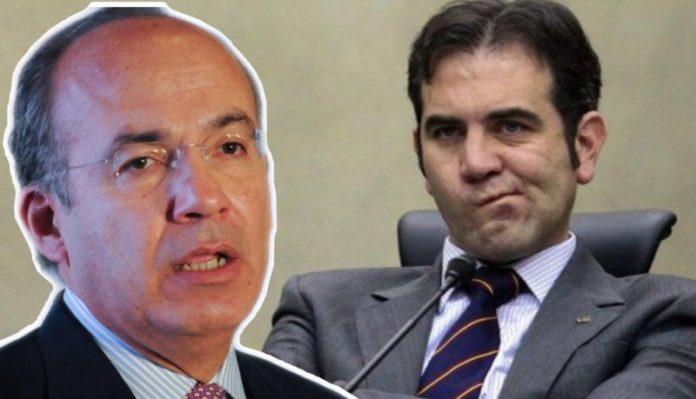 Felipe Calderón y Lorenzo Córdova
