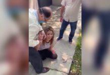 Notario mexiquense ofrece disculpas después de agredir a una mujer