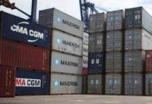Caen exportaciones en abril