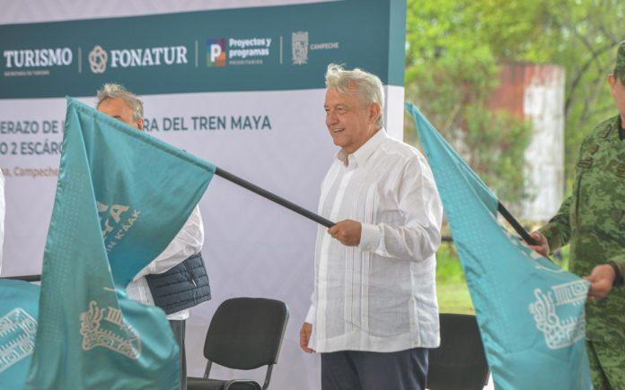 López da banaderazó a tramo 2 del Tren Maya