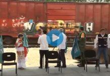 Deteriorado y vandalizado el Tren Maya de AMLO