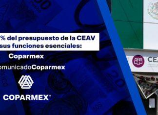 Cparmex contra recorte a la CEAV