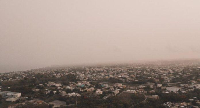 Polvo del Sahara no llegará a CDMX