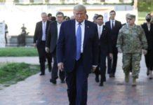 Trump, el Ejército y las protestas