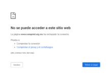 Desactivan página web del Conapred