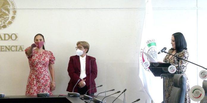 Nancy Sánchez arriba al Senado