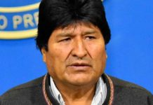 Solicitan detención de Evo Morales