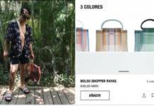 Zara y su bolsa de mandado