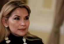Presidenta de Bolivia contrae Covid-19