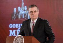 Ebrard informará al Senado sobre viaje de AMLO a EU