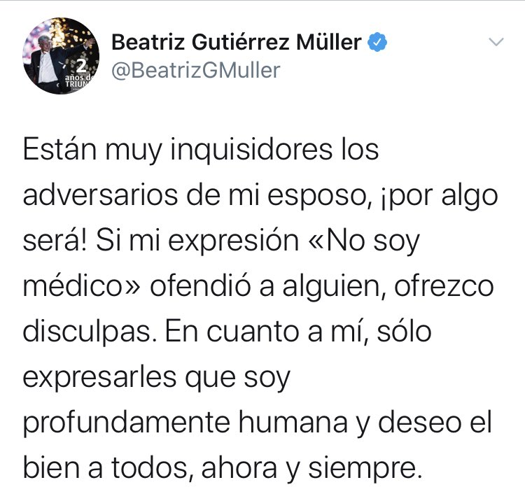 Disculpa de Müller