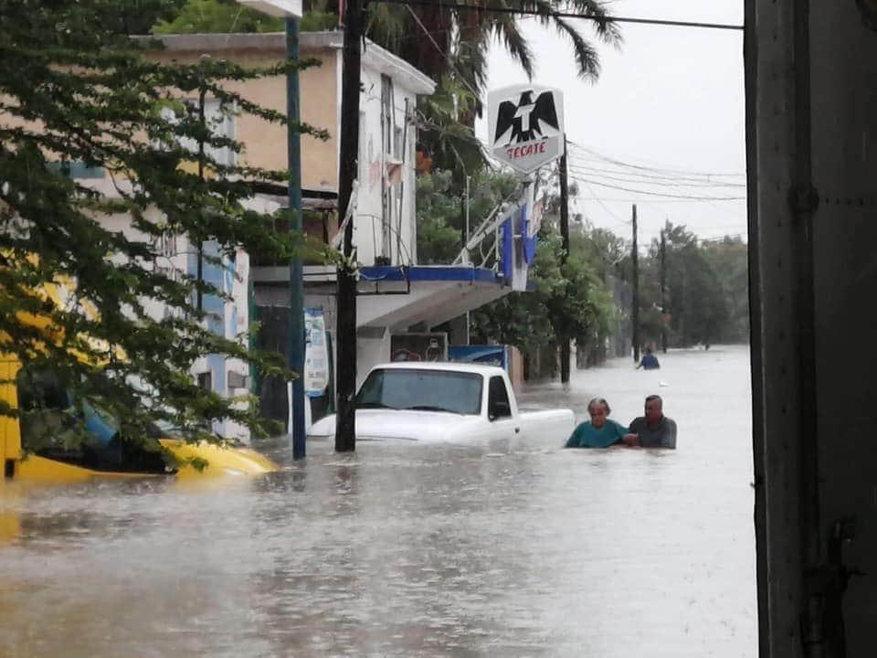 Hanna afecta Tamaulipas