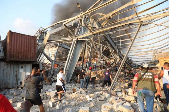 73 muertes ha dejado explosión en Líbano