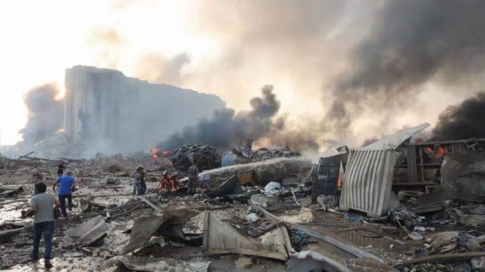 Pudo haber sido un ataque terrorista explosión en Beirut