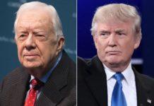 Carter crítica guerras de EU