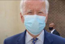 Biden apoya idea de uso obligatorio de cubrebocas