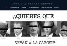 Ibarra impulsa portal para juicio a expresidentes