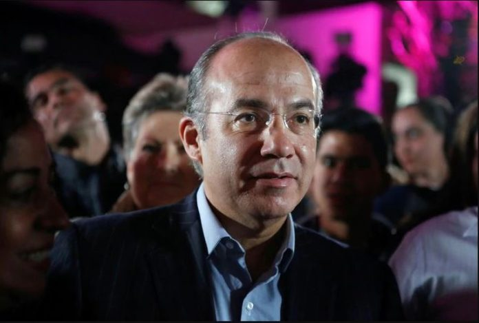 Calderón cuestiona trabajo del INE