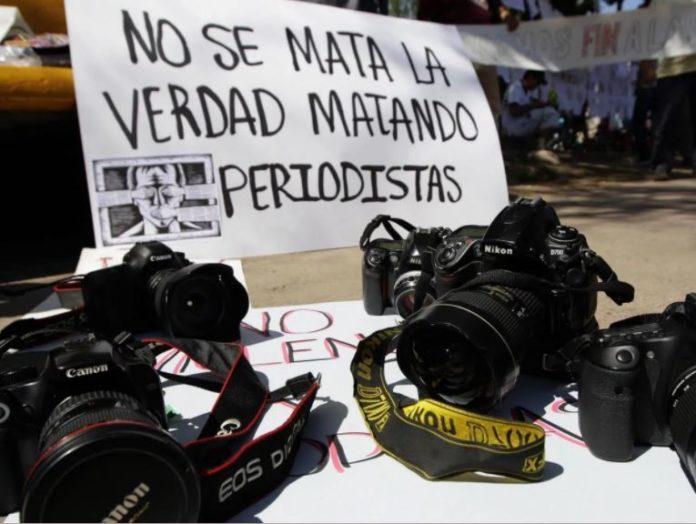 Agresiones contra periodistas en México