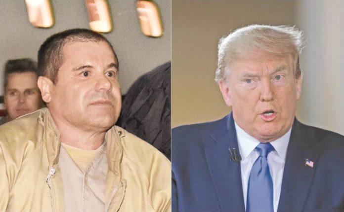 El Cahpo admira a Trump