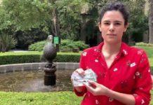 Luisa Alcalde invita a comprar 'cachitos'