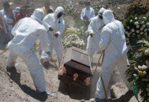Muertes durante la pendemia en México