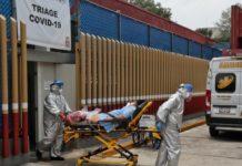 México cerca de los 640 mil casos de COVID