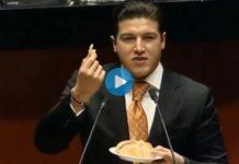 Samuel García y el pan de muerto