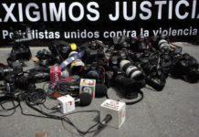 Asesinan a 5 periodistas en México en 10 meses