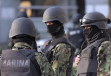 Marinos ejecutaron a 4 en Puebla