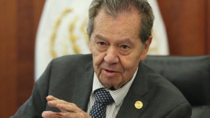 Muñoz Ledo deseó pronta recuperación a Delgado