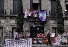 Demanda a mujeres toma de CNDH