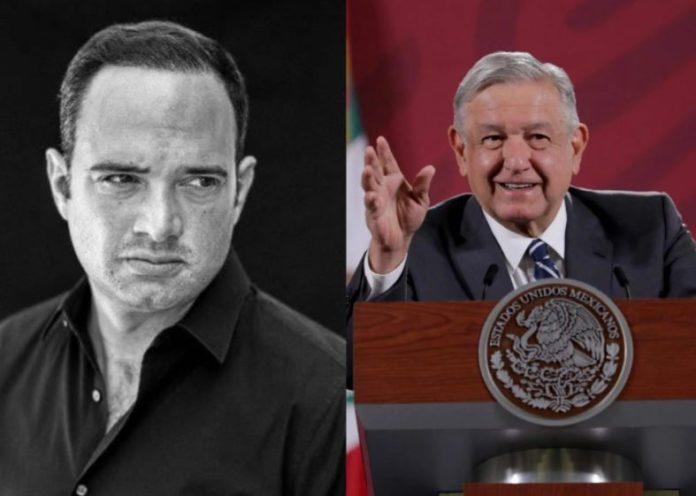 AMLO y León Krauze