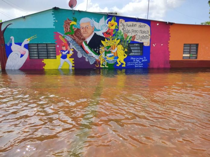 Macuspana y las inundaciones