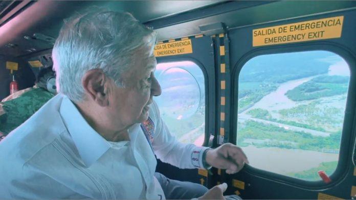 AMLO y las inundaciones en Tabasco