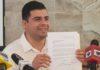 Manuel Cota va por alcaldía de La Paz
