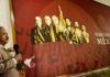 AMLO aparece en los murales