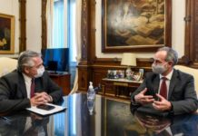 Gatell y su visita a Argentina