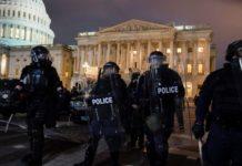 Autoridades aseguran el Capitolio