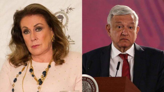 Laura Zapata pide que suspendan Twitter de AMLO
