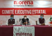 Chelis llega a Morena en Puebla