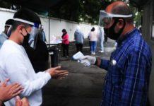 El avance del covid en México en enero