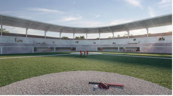 Remodelan estadio de equipo de béisbol