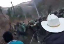 Chocan militares y agricultores por amapola
