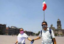 Avance del coronavirus en México