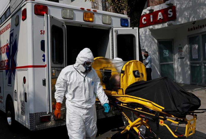Muertes por la pandemia en diciembre