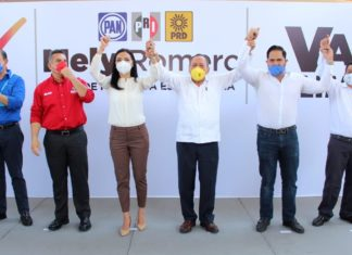 Oposición presenta a candidata para Colima