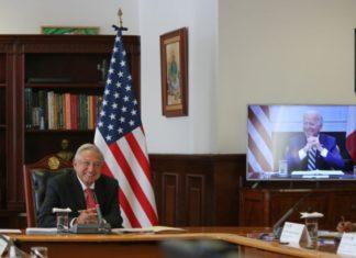 AMLO y Biden acuerdan cooperar en varios temas