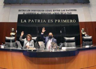 Senadores avalan en lo general reforma eléctrica de AMLO